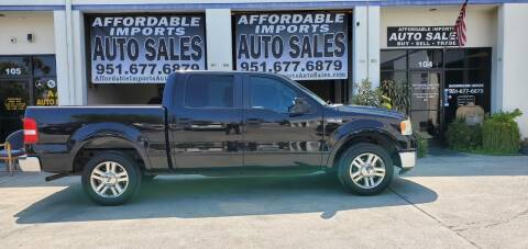 2007 Ford F-150 for sale at Affordable Imports Auto Sales in Murrieta CA