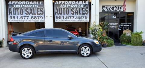 2008 Pontiac G5 for sale at Affordable Imports Auto Sales in Murrieta CA