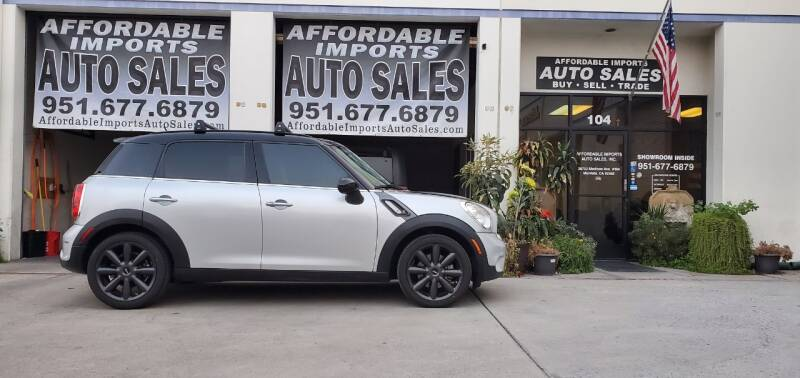 2014 MINI Countryman for sale at Affordable Imports Auto Sales in Murrieta CA