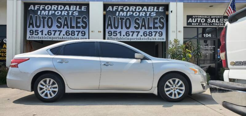 2013 Nissan Altima for sale at Affordable Imports Auto Sales in Murrieta CA