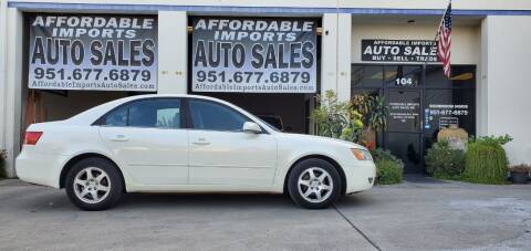 2006 Hyundai Sonata for sale at Affordable Imports Auto Sales in Murrieta CA