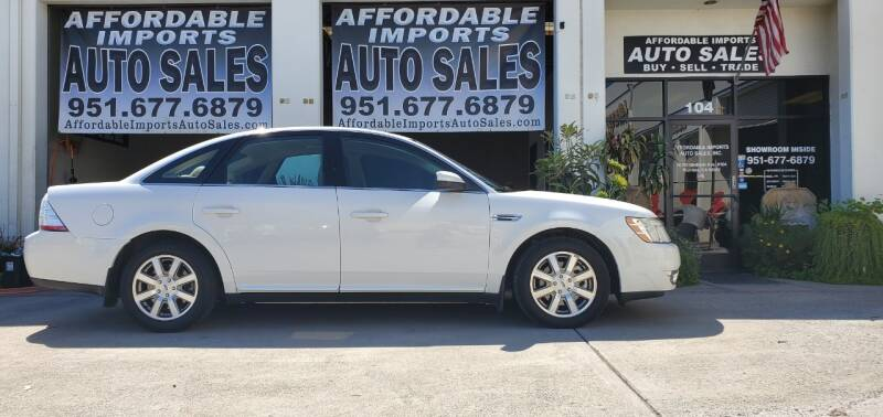 2008 Ford Taurus for sale at Affordable Imports Auto Sales in Murrieta CA