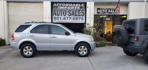 2005 Kia Sorento for sale at Affordable Imports Auto Sales in Murrieta CA