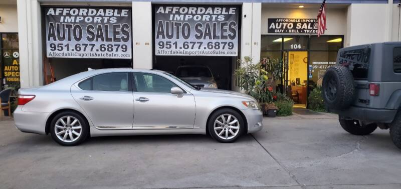 2007 Lexus LS 460 for sale at Affordable Imports Auto Sales in Murrieta CA