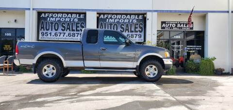 2003 Ford F-150 for sale at Affordable Imports Auto Sales in Murrieta CA