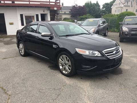 2010 Ford Taurus for sale at iDrive in New Bedford MA