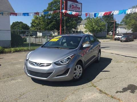 2016 Hyundai Elantra for sale at iDrive in New Bedford MA