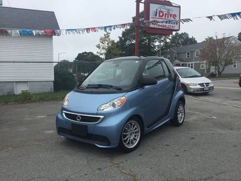 2013 Smart fortwo for sale at iDrive in New Bedford MA