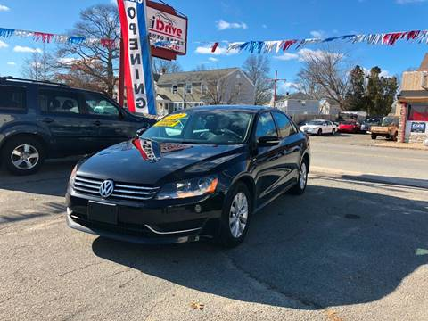 2015 Volkswagen Passat for sale at iDrive in New Bedford MA