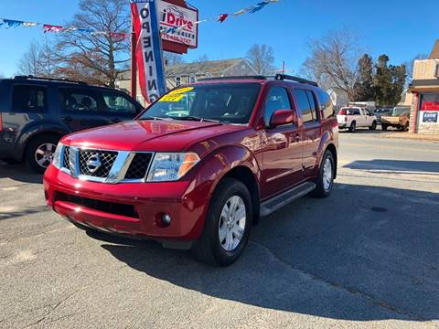 2005 Nissan Pathfinder for sale at iDrive in New Bedford MA