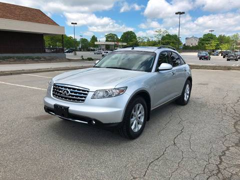 2006 Infiniti FX35 for sale at iDrive in New Bedford MA