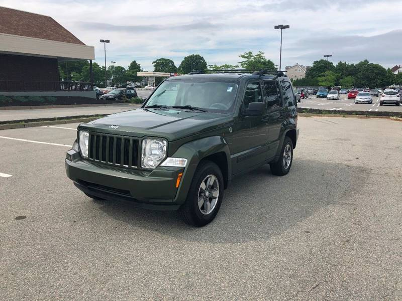 2008 Jeep Liberty for sale at iDrive in New Bedford MA