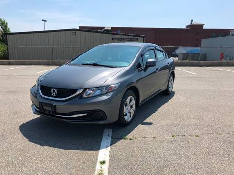 2013 Honda Civic for sale at iDrive in New Bedford MA