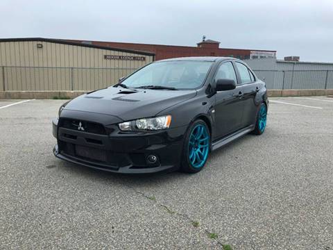 2014 Mitsubishi Lancer Evolution for sale at iDrive in New Bedford MA
