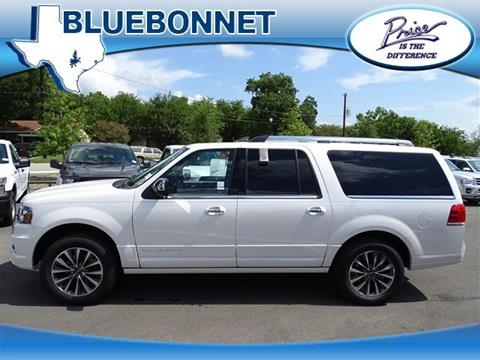 2017 Lincoln Navigator L for sale in New Braunfels, TX
