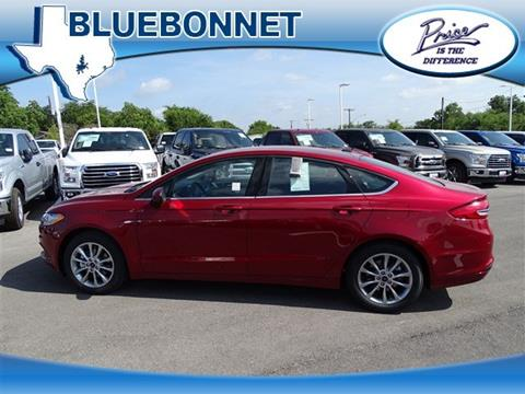 2017 Ford Fusion for sale in New Braunfels, TX