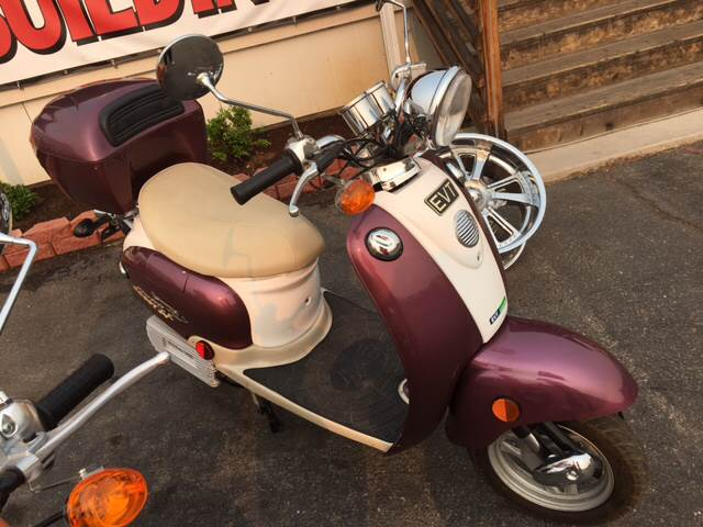 2006 EVT 168 Electric Scooter for sale at Siskiyou Auto Sales in Yreka CA