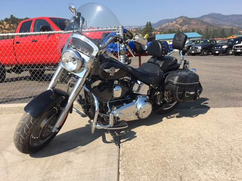 2012 Harley-Davidson Fat Boy for sale at Siskiyou Auto Sales in Yreka CA