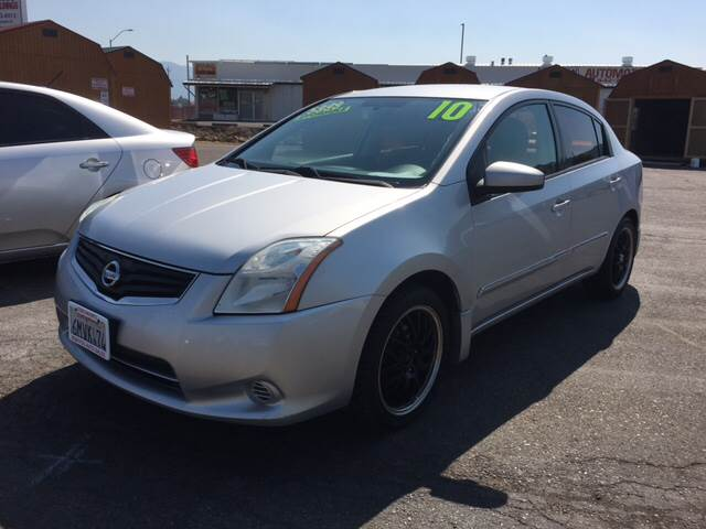 2010 Nissan Sentra for sale at Siskiyou Auto Sales in Yreka CA