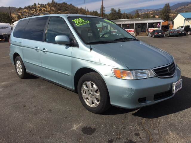 2003 Honda Odyssey for sale at Siskiyou Auto Sales in Yreka CA