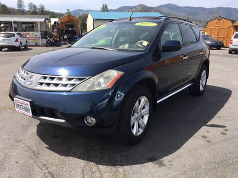 2007 Nissan Murano for sale at Siskiyou Auto Sales in Yreka CA