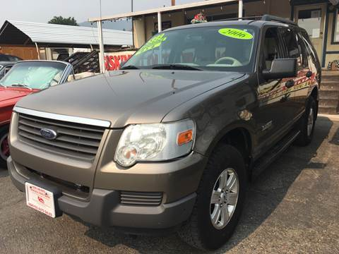 2006 Ford Explorer for sale at Siskiyou Auto Sales in Yreka CA