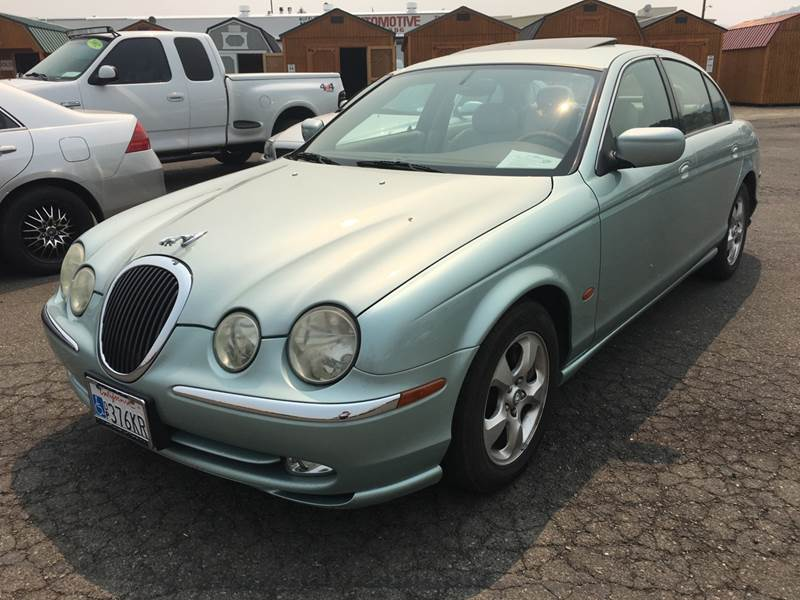 2001 Jaguar S Type For Sale At Siskiyou Auto Sales In Yreka CA