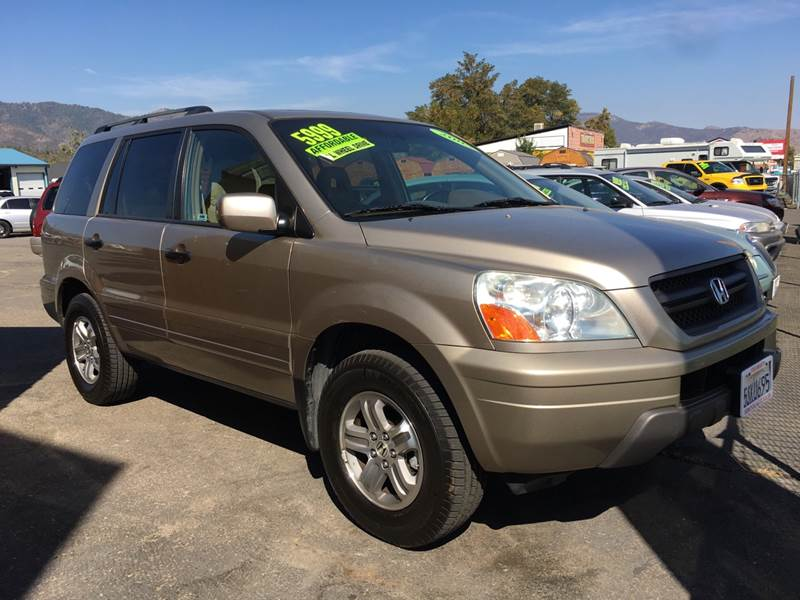2005 Honda Pilot For Sale At Siskiyou Auto Sales In Yreka CA