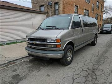 2001 Chevrolet Express Passenger for sale at Cash Cars Buy Here Pay Here in Chicago IL