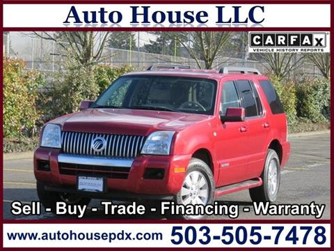 2008 Mercury Mountaineer for sale in Portland, OR