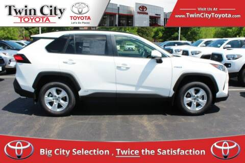 2019 Toyota RAV4 Hybrid for sale at Twin City Toyota in Herculaneum MO
