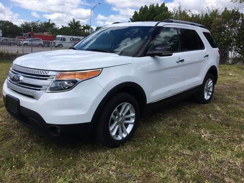2013 Ford Explorer for sale at ROADWAY MOTORS  LLC in West Park FL