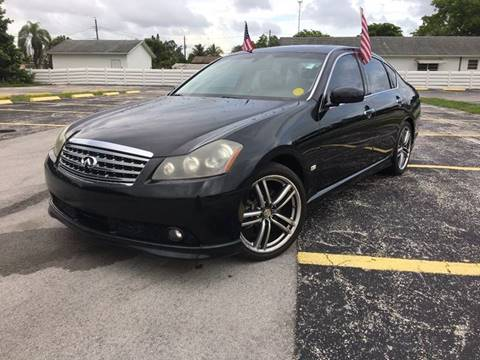 2007 Infiniti M35 for sale at ROADWAY MOTORS  LLC in West Park FL