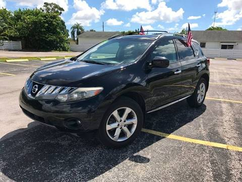 2009 Nissan Murano for sale at ROADWAY MOTORS  LLC in West Park FL