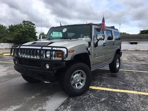 2005 HUMMER H2 for sale at ROADWAY MOTORS  LLC in West Park FL