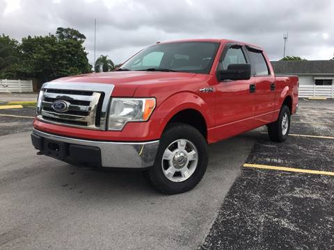 2010 Ford F-150 for sale at ROADWAY MOTORS  LLC in West Park FL