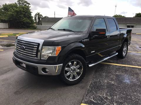 2012 Ford F-150 for sale at ROADWAY MOTORS  LLC in West Park FL