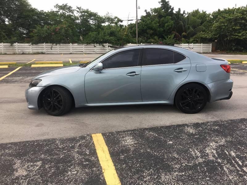 2007 Lexus IS 250 for sale at ROADWAY MOTORS  LLC in West Park FL