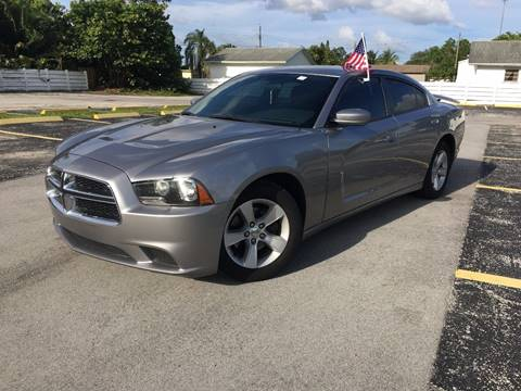 2013 Dodge Charger for sale at ROADWAY MOTORS  LLC in West Park FL