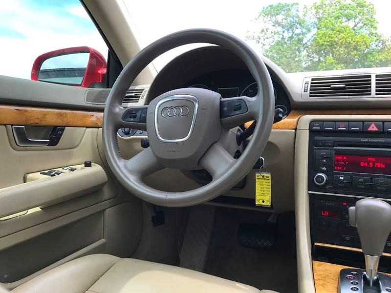 2007 Audi A4 for sale at ROADWAY MOTORS  LLC in West Park FL