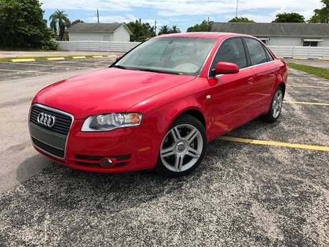 2007 Audi A4 for sale at ROADWAY MOTORS  LLC in West Park FL