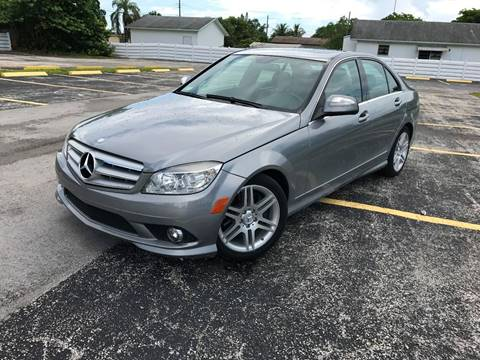 2008 Mercedes-Benz C-Class for sale at ROADWAY MOTORS  LLC in West Park FL