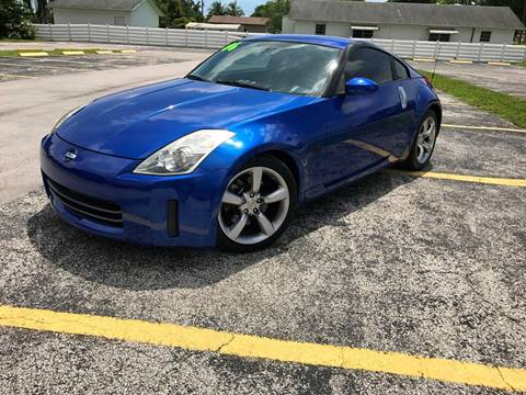 2006 Nissan 350Z for sale at ROADWAY MOTORS  LLC in West Park FL