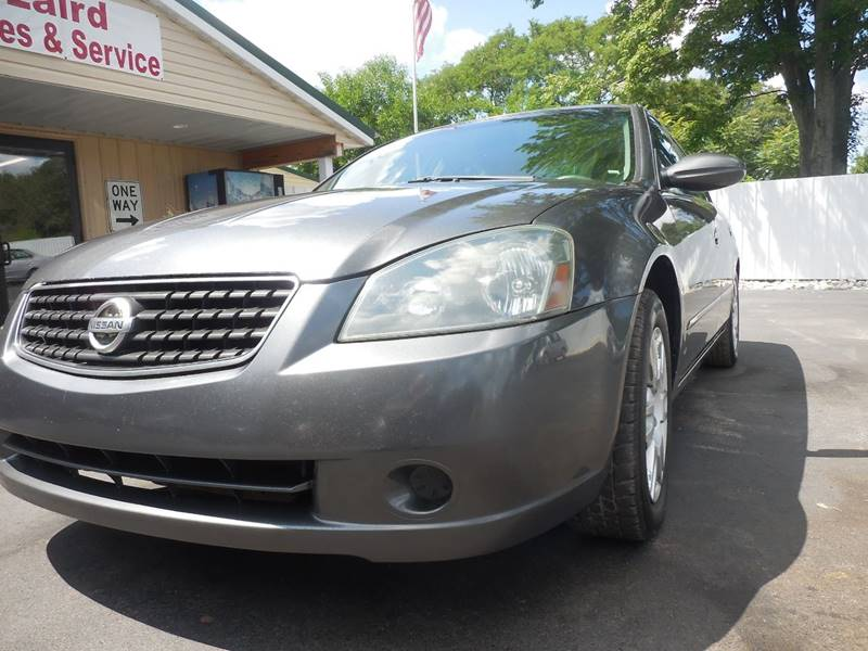 2005 Nissan Altima For Sale At LAIRD SALES AND SERVICE In Muskegon MI