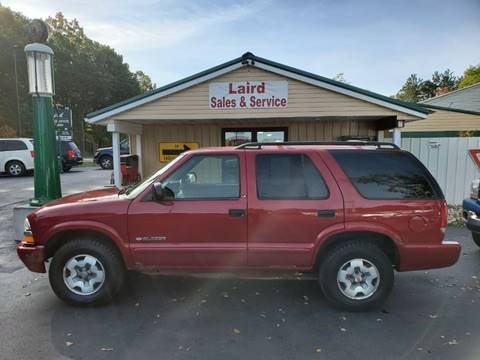 2003 Chevrolet Blazer for sale in Muskegon, MI