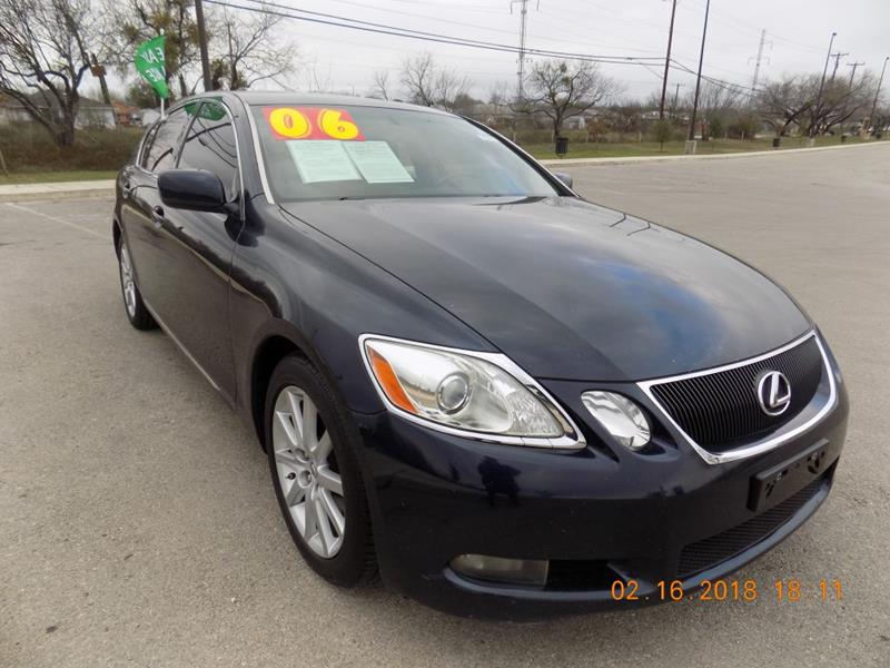 2006 Lexus GS 300 For Sale At HALEMAN AUTO SALES In San Antonio TX