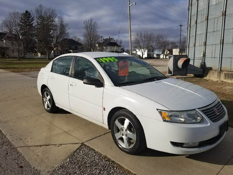 2006 Saturn Ion 3 In Thorntown In Zoom Auto Outlet Llc
