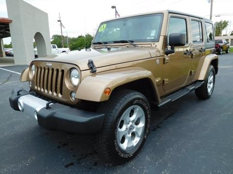 2015 Jeep Wrangler Unlimited for sale in Bunker Hill, IN