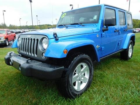 2014 Jeep Wrangler Unlimited for sale in Bunker Hill, IN