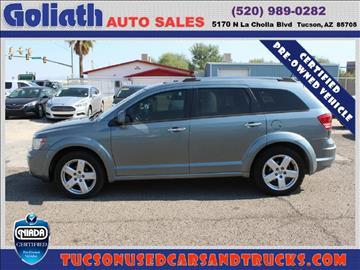 2010 Dodge Journey for sale in Tucson, AZ